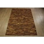 Lehmännahka matto  160x230cm, käsityö,  Intia