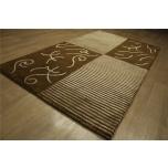 Villavaip siidiga  90x160 cm (95x165) Nepali käsitöö