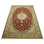 Villavaip siidiga 200x300 cm (204x320) Iraani käsitöö Nain