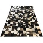Loomanahast disainer vaip  165x235cm  India käsitöö